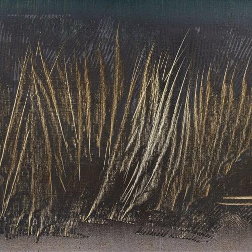Hans Hartung  T1964-E8, 1964  Acrylic on canvas  65 x 81 cm / 25.5 x 33.9 in.  92.5 x 108 cm (framed)