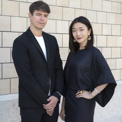 Galerie Marguo co-founders and partners Vanessa Guo and Jean-Mathieu Martini. Courtesy of Galerie Marguo