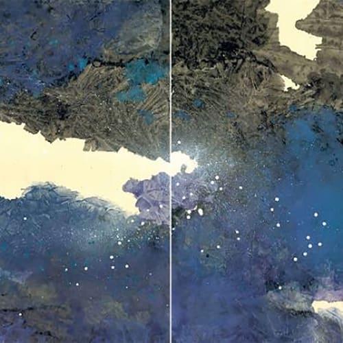 Raymond Fung 馮永基, Breathing (1) 呼吸系列(1), 2020, 90 x 360 cm