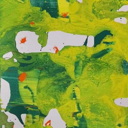 Li Lei 李磊 立春2020之2 Acrylic on canvas 布上丙烯 50 x 40 cm, 2020