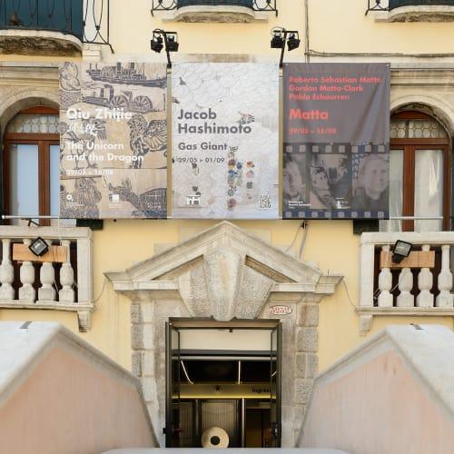 © Galleria d'Arte Maggiore G.A.M. | Matta. Roberto Matta, Gordon Matta-Clark, Pablo Echaurren, Fondazione Querini, Venezia