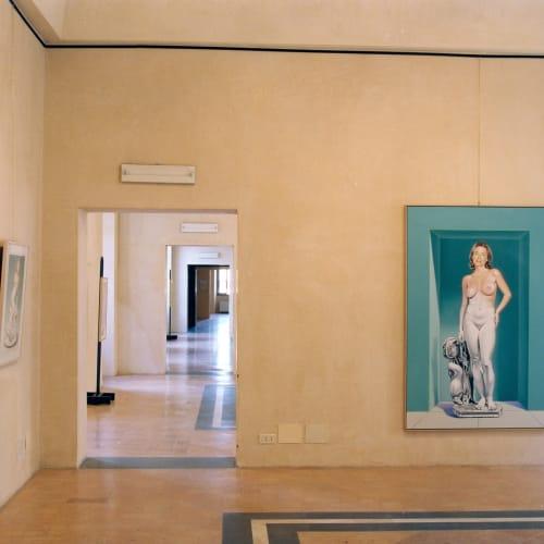 © Maggiore g.a.m. | Mel Ramos solo show at Palazzo dei Sette, Orvieto, summer 2001
