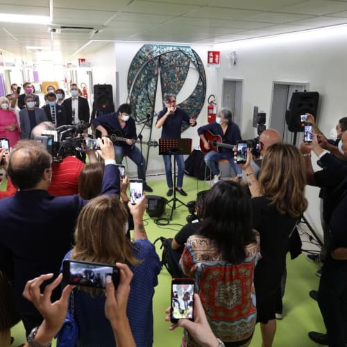 © Maggiore g.a.m.   The opening of the new Oncology Department at Policlinico Sant'Orsola, Bologna, September 2020