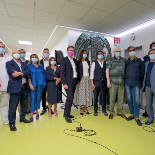 © Maggiore g.a.m. | The opening of the new Oncology Department at Policlinico Sant'Orsola, Bologna, September 2020