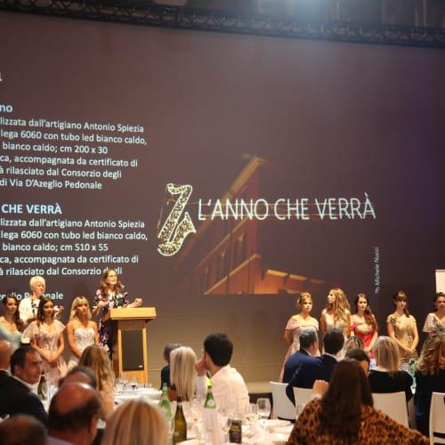 © Maggiore g.a.m.   The charity auction dedicat to the Christmas Lights celebrating Lucio Dalla, Palazzo Re Enzo, Bologna, 2019