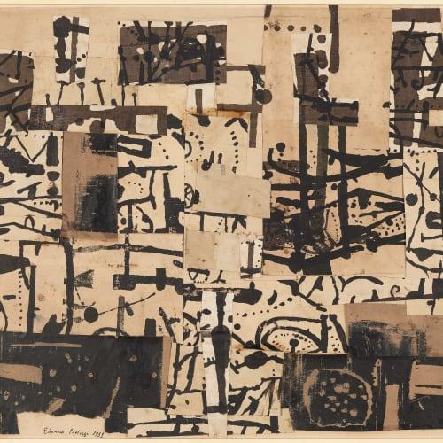 EDUARDO PAOLOZZI, COLLAGE, 1951