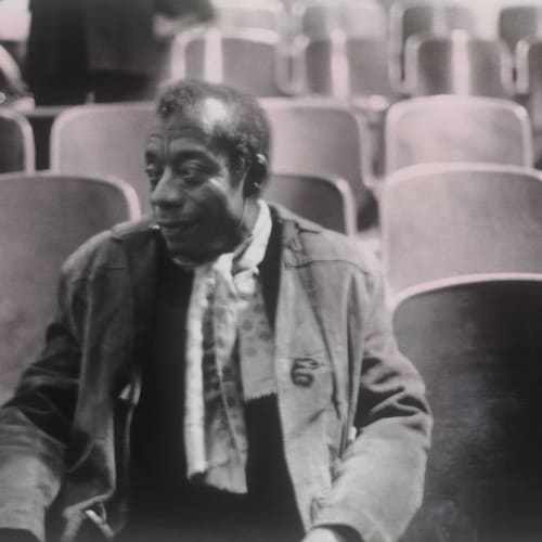 Ming Smith, James Baldwin, 1978
