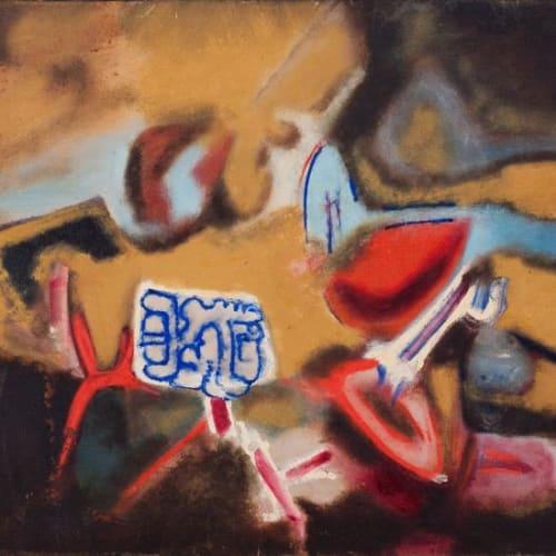 Aubrey Williams, Aruka Sign, 1978