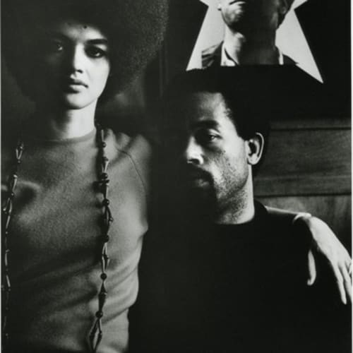 Gordon Parks, Eldridge Cleaver and His Wife, Kathleen, Algiers, Algeria, 1970 ©The Gordon Parks Foundation. Used with permission.