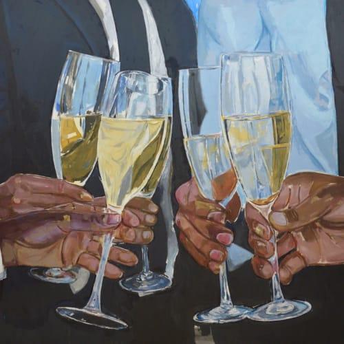 Enrico Riley, Untitled: Celebration after Hard Times, 2020