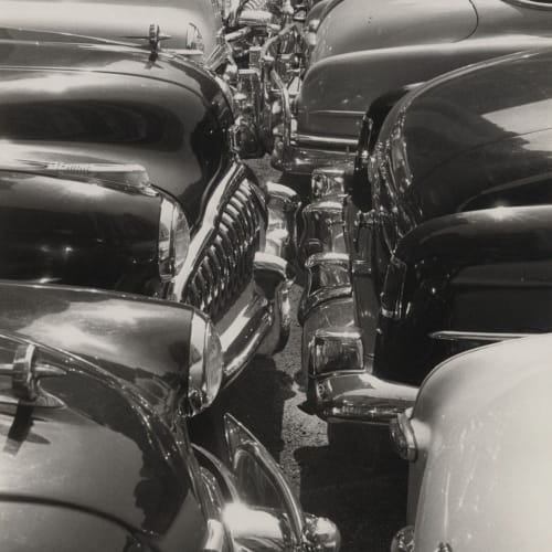 Roy DeCarava, Auto Grills, c. 1950 © The Estate of Roy DeCarava. All Rights Reserved.