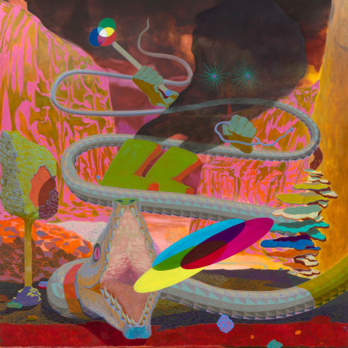 ALEX JACKSON The Ambassador of Additivity, 2021oil on canvas