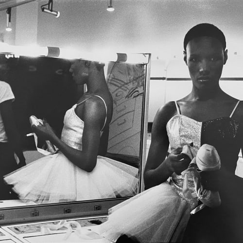 MING SMITH Untitled (Grace Jones Ballerina), 1975Gelatin silver print