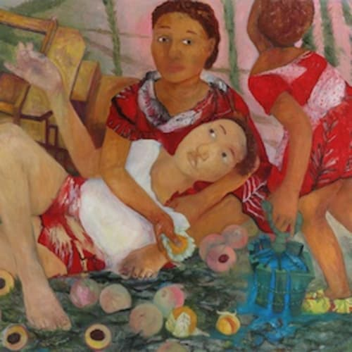 PHILEMONA WILLIAMSON Water for Peaches, 2021oil on canvas