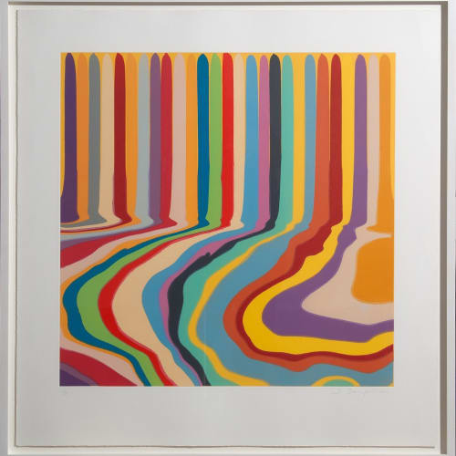 Ian Davenport (b. 1966) Colorplan Series: Citric Etching, 2011, a series of four colour etchings with chine-collé on paper. Edition of 30 © Ian Davenport. All rights reserved, DACS 2020