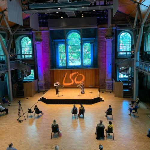 LSO Summer Shorts in Jerwood Hall, LSO St Luke's. Photo: LSO.