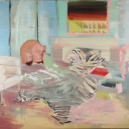 Diana Copperwhite, Original of the Species, 2007 oil on canvas, 180 x 240 cm