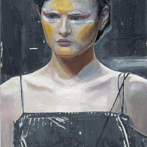 Mark O'Kelly, Yohji, 2004 oil on linen, 70 x 60 cm