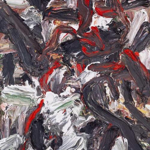 刘正勇, 山脉·隐藏的女猎手, 布面油画 Liu Zhengyong, The Mountains·Hidden Huntress, Oil on canvas 110x90cm 2019