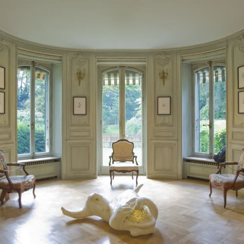 Installation view, Avant Demain, 2020, Château de Penthes, Pregny-Chambésy, Switzerland Ph. by ©Claude Cortinovis