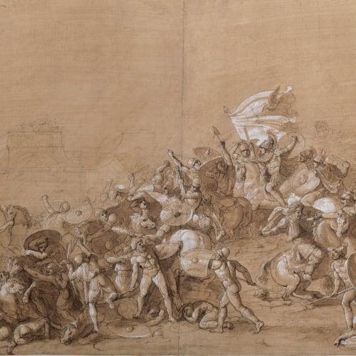 Luigi ADEMOLLO, The Battle of Gaugamela , 1790