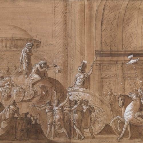 Luigi ADEMOLLO, The Triumphal Entry of Alexander the Great into Babylon, 1790