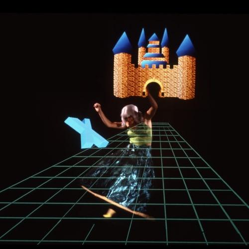 Ericka Beckman, Cinderella (1986) (still). 16mm transferred to digital, single-channel, color, sound, TRT: 28 mins, 10 seconds.