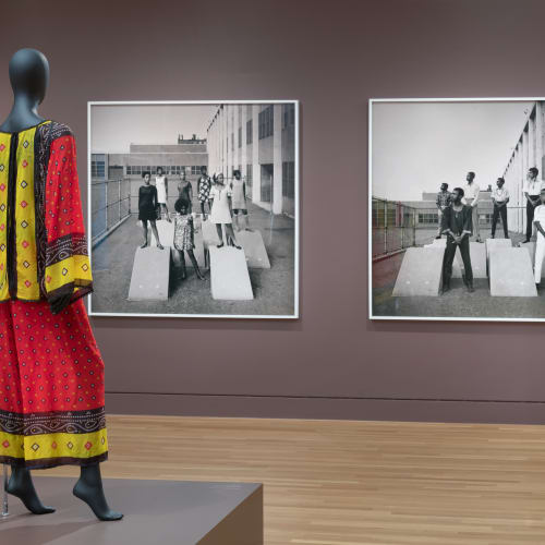 Kwame Brathwaite, Black Is Beautiful: The Photography of Kwame Brathwaite (2019) (installation view).