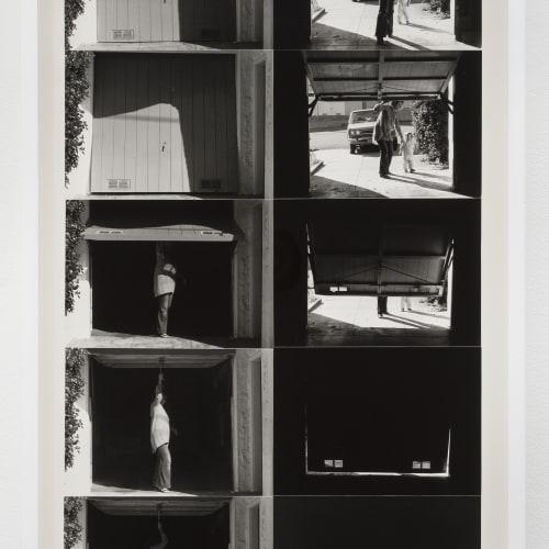 "Lew Thomas, ""OPENING & CLOSING THE GARAGE DOOR: 2 Perspectives,"" (1972/2015)."