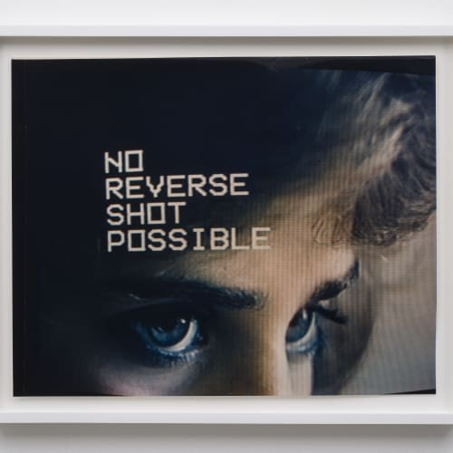"""Lew Thomas, """"NO REVERSE SHOT POSSIBLE from the series TELEVISION EYES,"""" (1985)."""
