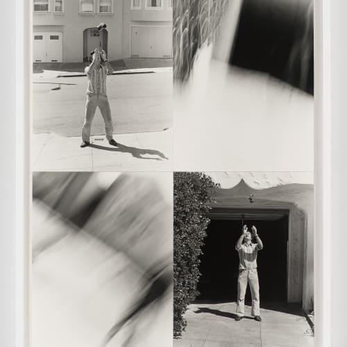 """Lew Thomas, """"THROWING-NIKOMAT,"""" (1973/2014)."""
