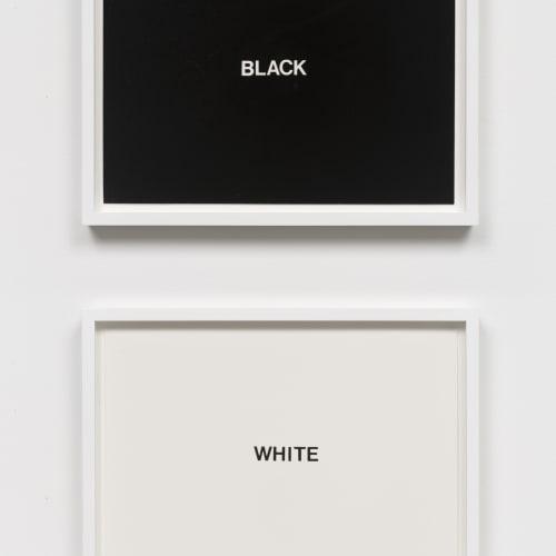 """Lew Thomas, """"BLACK & WHITE,"""" (1971)."""