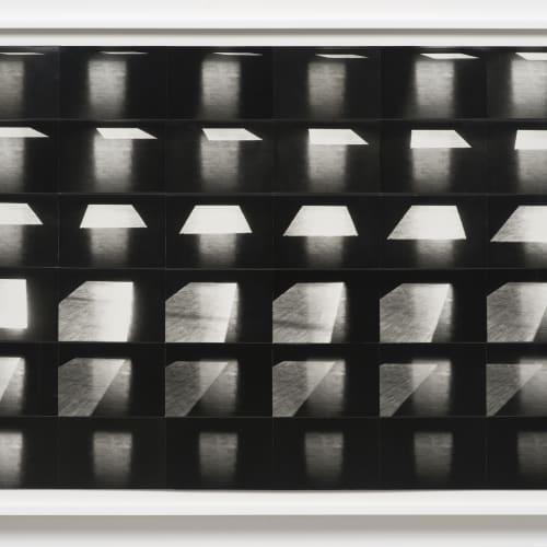 """Lew Thomas, """"LIGHT-ON-FLOOR,"""" (1973)."""