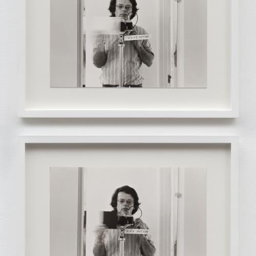 """Lew Thomas, """"WHITE MOTION/BLACK MOTION,"""" (1972)."""