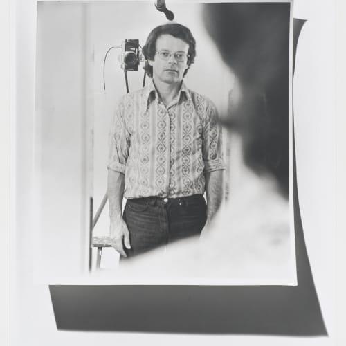 "Lew Thomas, ""Self Portrait #2,"" (1972)."