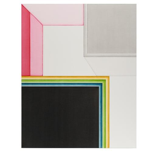 Selma Palour, Eftsoons II, 2020, Oil on linen, 76 x 61 cm