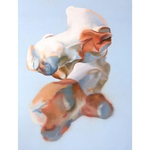 Maude Maris - Floating - 2019 - oil on canvas - 40 x 30 cm
