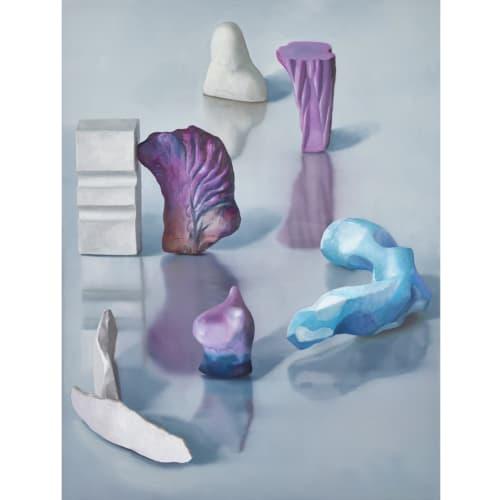Maude Maris - Serpentine - 2019 - oil on canvas - 120 x 90 cm