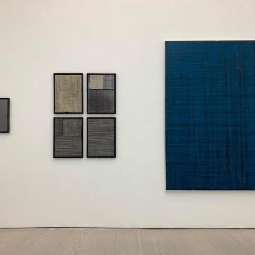 Kemal Seyhan - 'Untitled' (installation view) - 2019 - Oil on canvas - 195 x 135 cm