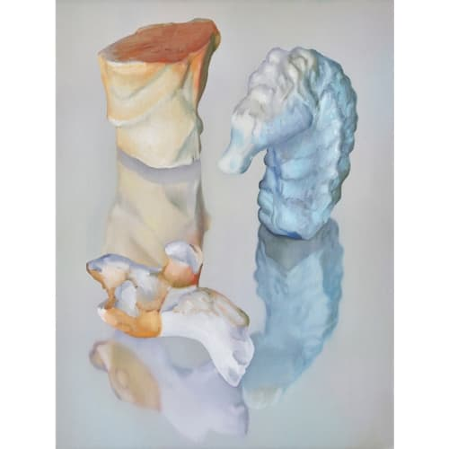 Maude Maris - You - 2019 - oil on canvas - 40 x 30 cm