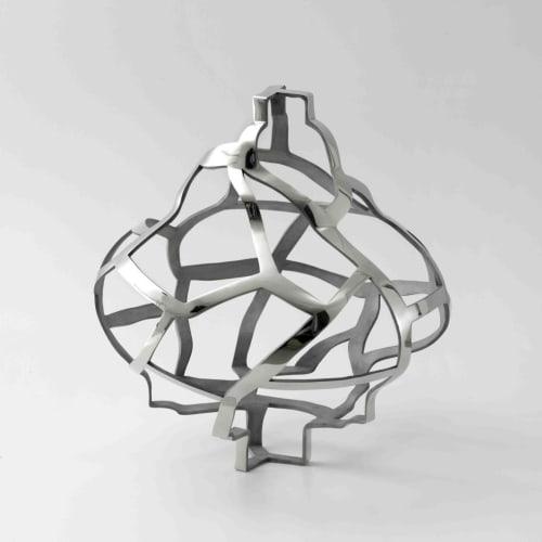 Susan Hefuna - Untitled - 2014 - Silver bronze - 61 x 53 cm