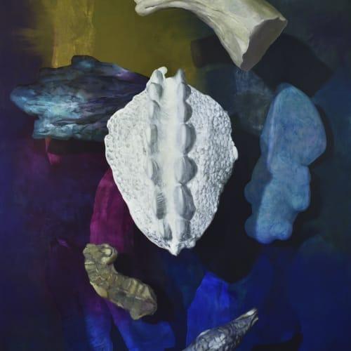Maude Maris Neptunet 2018 oil on canvas 220 x 160 cm