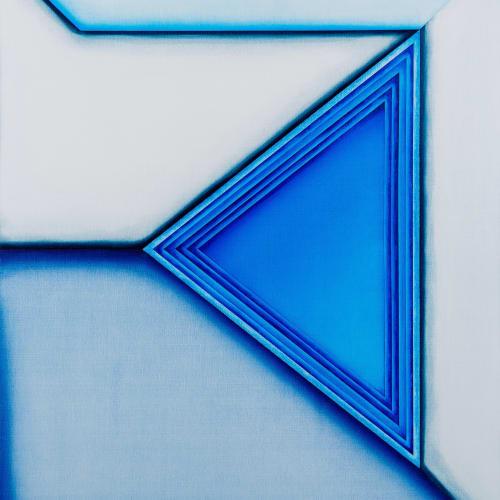 Selma Parlour Invented Vocabulary VII 2020 oil on canvas 60 x 50 cm