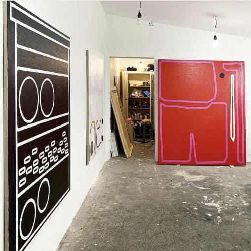 Bertrand Fournier Studio view 2019