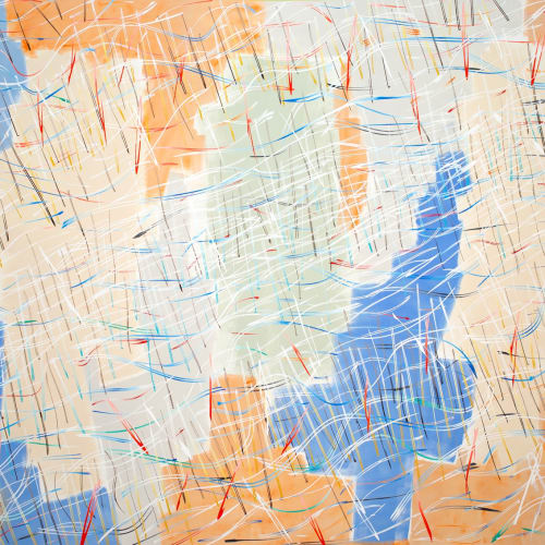 Mapping, early 2019, oil on canvas, 198 x 305cm