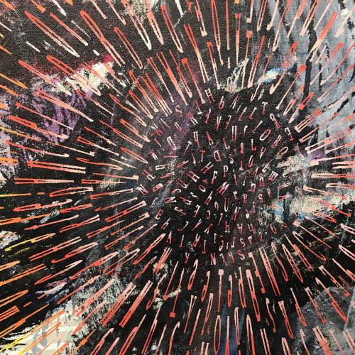 Detail: Open, oil on canvas 198 x 305cm
