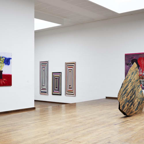 Install: Figurarion / Abstraction, at Kunst Bygningen i Vraa, Denmark. Photo credit: Andrea Overbye