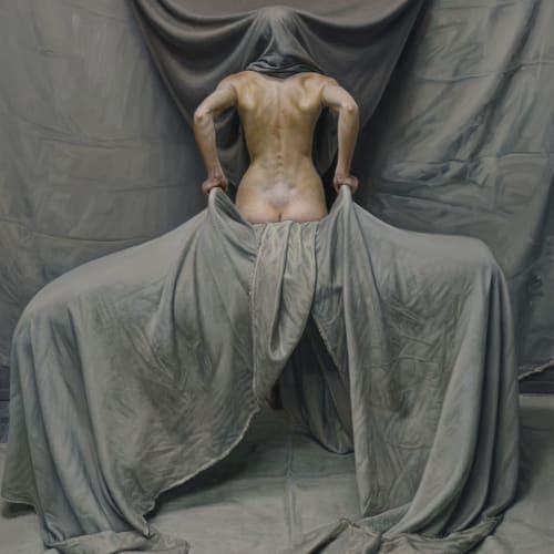 "Craig Wylie  ""EW (hood)""  183 x 134.5 cm  Oil on linen canvas"