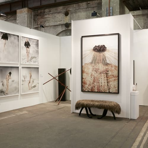 Gallery Sally Dan-Cuthbert, Booth E11, Photography by Zan Wimberley