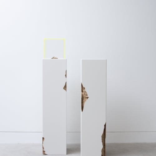KYOKO HASHIMOTO AND GUY KEULEMANS Plinth I & II, 2019